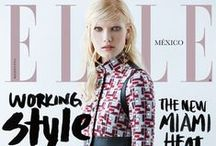 Portadas / Various covers from ELLE Mexico