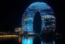 Concept et architectures créatifs / Trouvailles d'architectures du monde