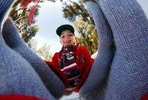 Inspiratie foto-kerstkaarten / Originele en creatieve ideeën voor je fotokerstkaart.
