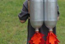 Barnpyssel - Crafts for kids / När det kniper med idéer....
