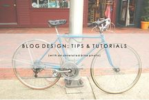 Blog Design Basics / Blog design tutorials and tips. Sharing all we know about blog design!