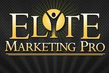 Elite Marketing Pro - Blog / The Elite Marketing Pro program is a subscription based affiliate program that allows you to earn 100% commission for each one of the program's products you sell. They take care of all the logistics required to set up your online business including the monetization part. All you need to do is to drive traffic to your site. http://klou.tt/1u4n38h131pwr