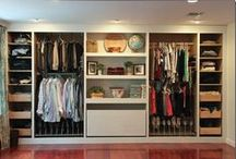 Closets and laundry