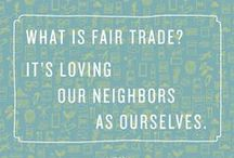 Fair Trade Products / Just Choices Save Lives! Purchase fair trade and direct trade products and make a difference with your purchases. Fair trade and direct trade products provide artisans and laborers a fair wage and ethical treatment.