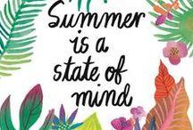 Happy Summer! / Zomerse beelden om vrolijk van te worden!