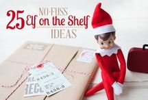 Easy Elf on the Shelf / If you want the magic of Elf on the Shelf ideas during Christmas for your baby boy or baby girl but need easy, here are DIY crafts and activities that you can do with your Elf in less than 10 minutes or $5 dollars.