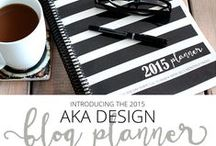 Blog Planners & Organization