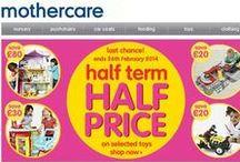 Kids Coupons / Find cool stuff for all types of kids at price that won't hurt your wallet. Each photo includes UK voucher codes (all found when you tick on www.getdiscount.co.uk) to give you great discounts on your shopping cart!