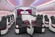 Qatar Airways Cabin / Qatar Airways World's 5 Star Airline Trip Report