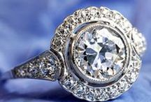 DIAMONDS, JEWELERY ETC. / ANÉIS DE DIAMANTE, ETC