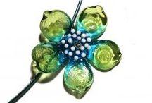 My lampwork beads