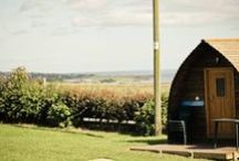 Wigwams at Pot-a-Doodle Do / Pictures of what is to offer at our glamping site!