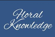 Floral Knowledge / From Care to Meaning, McNamara wants to provide you with all the floral knowledge you need!