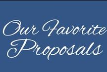 Our Favorite Proposals / Grab your tissue box! These are a few of our favorite proposals!