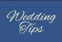 Wedding Tips / Here are some helpful tips for your wedding! With these your day is sure to go as smoothly as possible!