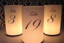 Table Numbers / Seating Plan / .