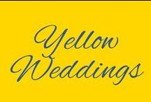 Yellow Weddings / McNamara Weddings using Yellow as a primary color. Bold, Beautiful and Cheerful.