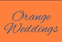 Orange Weddings / Weddings with Orange
