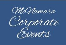 McNamara Corporate Events & Parties / Corporate Events, parties and other events by McNamara Florist and Enflora Flowers for Business.