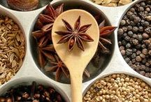 Essence of cooking - spices and herbes