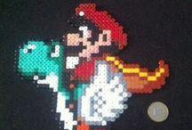 Mario / Le monde de Mario en perle hama