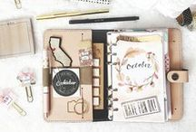 Journal & Planner Love / Bullet Journal, Filofax, Erin Condren... All kinds of journals, planners & organizers.