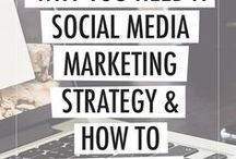 Social Media / How to grow your follower base on Instagram, Facebook and Pinterest.