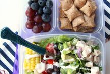 Teach Love Lunch / Best ideas for easy lunches to pack as a teacher. Healthy snacks and ways to make life easier with meal planning.