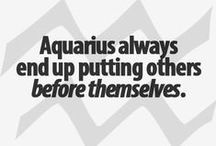 Aquarius / Aquarius quotes, characteristics, horoscope and zodiac.