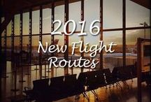 New Flight Routes for 2016 / New flight routes for 2016 - So what's new for the UK holiday maker this year? Here we look over a few new routes and extra capacity on offer.