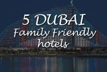 5 Family Friendly hotels in Dubai / There are three main hotels that spring to mind when you think of family holidays in Dubai;