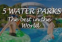 5 of the Best Waterparks / Here we scratch the surface of the waterpark world offering an overview of some of the best on the planet.