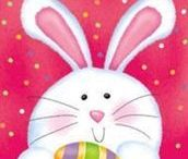 Easter in illustrations
