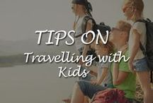 Tips on Travelling with Kids / Travelling with kids - Here we put together a few tips on travelling with the little angels and to help make that become a happy family holiday