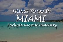 Top Things to do in Miami / Best top things to do in Miami  - Thinking of a trip to Florida this year? Why not include Miami in your itinerary? Learn more about Miami attractions.