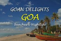 Goan Delights / Goan Delights - Goa give an entirely new & different experience with smashing places like Goa beaches, Goa Temple, waterfalls & crusie drive & diving.