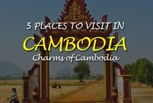 5 Places to visit in Cambodia / The 5 Most Beautiful Places to Visit in Cambodia. Cambodia is best known as the home of the colossal temples of Angkor Wat & charms of Cambodia are
