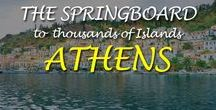 Athens, The springboard to thousands of Islands / Athens the birthplace of democracy and The Olympic Games & also a city is the port of Piraeus with daily connections to many of Greece's idyllic islands.