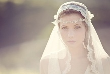 bridal headpieces and veils etc