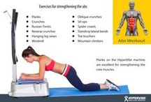 Hypervibe Moves / Moves you can use with your #whole #body #vibration #machine. Exercises, workouts, tips