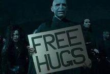 Awkward Hugging