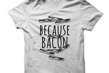 Keep Calm and Eat Bacon / Keep Calm and Eat Bacon Tshirts for Him and for Her. Fun and Funny!