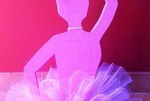 DANCE / tableau e decorazioni comunione tema danza