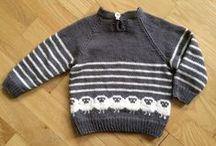 Babystrik / strikkede ting til baby og børn