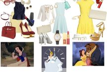 Disney -> outfits