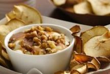 Chip-spiration / Fun and delightful recipes you can make with apple, pear or sweet potato chips to satisfy the inner foodie in all of us!