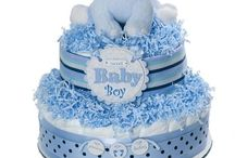 BABY DIAPER CAKES & OTHER DECORATIONS
