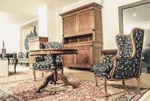 Domus mobili antichi e Modernariato / Esposizione Domus