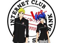 Internet Club / This is an icon Internet Club's organization in Unisbank (Indonesia)
