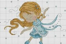 Cross Stitch: Children